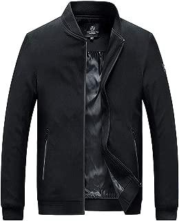 LEKODE Men Outwear Fashion Solid Outdoor Long Sleeve Tops