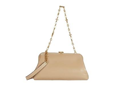 Tory Burch Cleo Bag (Dromedary) Handbags