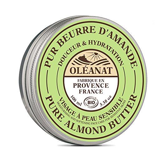 Oléanat Beurre d'Amande Douce Biologique 100 ml - Lot de 2