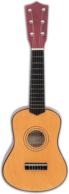 Bontempi- Guitarra clásica de Madera, 55 cm (Spanish Business Option Tradding 21 5520)