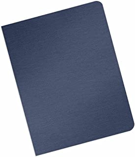Grain-Texture Paper Binding Covers - 16-Mil Thickness - Eco-Friendly - Variety of Sizes & Colors - for Business Reports and Proposals - 100 Individual Sheets