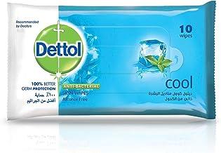 Dettol Cool Antibacterial Skin Wipes 10 Count