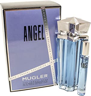 Thierry Mugler Angel Confezione Regalo 100ml EDP Ricaricabile + 7.5ml EDP