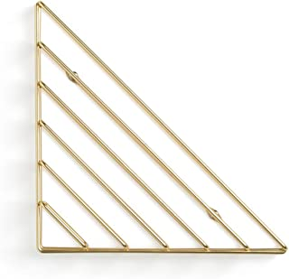 LXYFMS Modern Minimalist Desk Racks Bedroom Wall Wall Storage Rack Shelf  color Gold