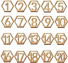 5 pezzi in legno lavagna nera messaggio numero di tavolo decorazione di festa di matrimonio porta carte ECMQS Mini lavagna nera
