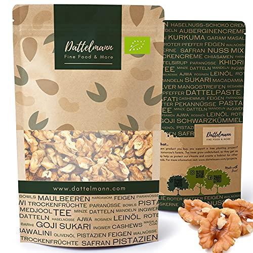 Bio Walnusskerne 1Kg | Walnüsse | 100% Natürlich & Gesund | Premium Qualität | Palmyra Delights | Walnuss