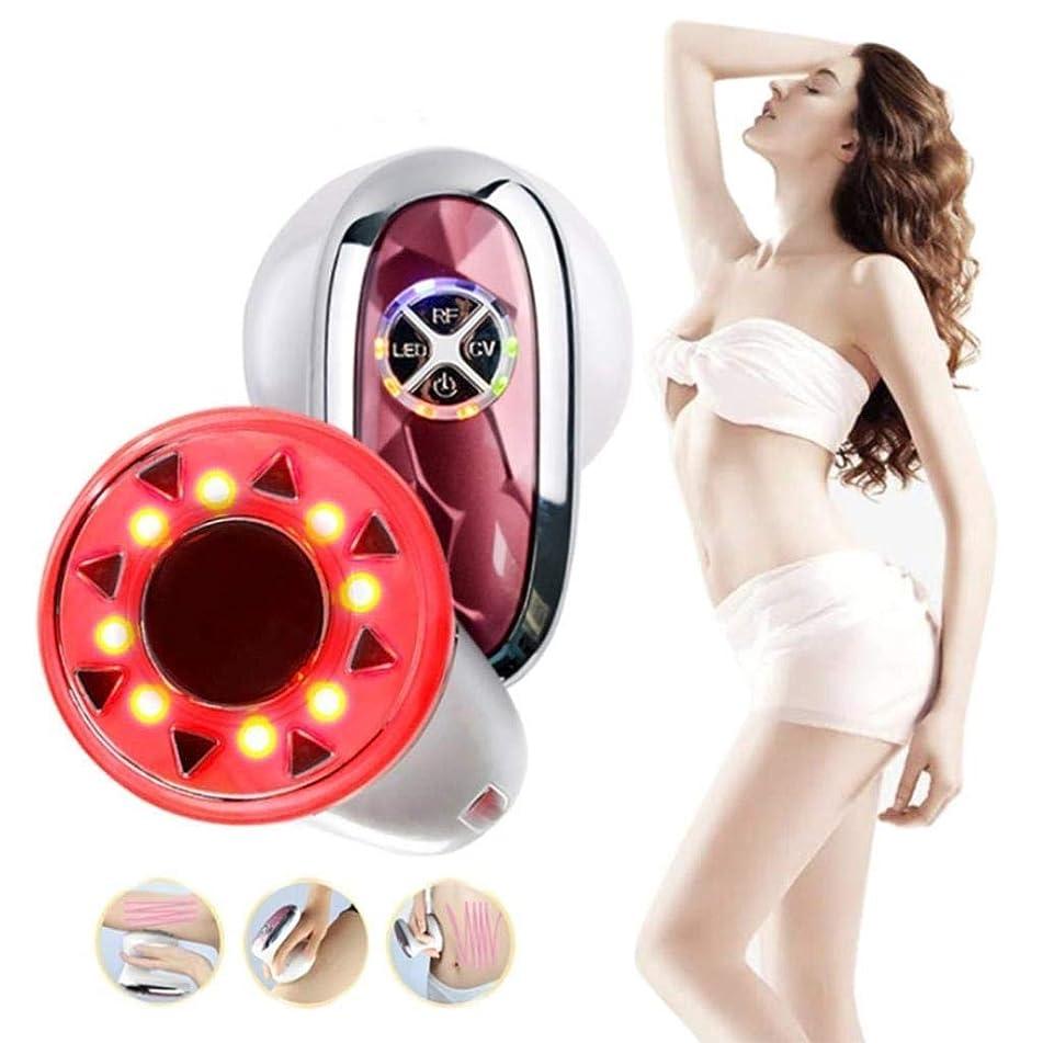共感する感嘆してはいけません電気減量機、4-1 - ラジオ周波数マッサージ器、体の腹部、腰、脚、お尻、ボディマッサージ器、スキンケア機器