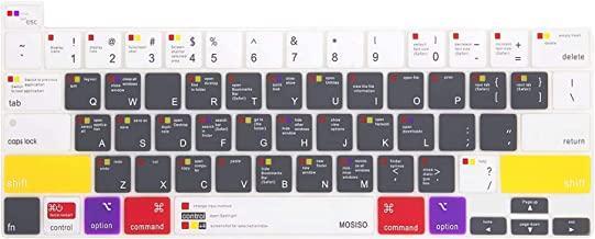 جلد صفحه کلید MOSISO سازگار با 2020 MacBook Pro 13 اینچ A2251 A2289