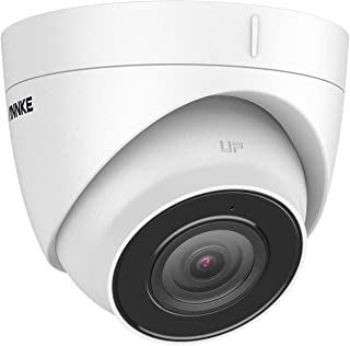 ANNKE C800 Turret 8MP 4K Ultra HD PoE IP Security Camera with H.265+ Coding, IP67 Weatherproof Outdoor Indoor, Built-in-Mi...