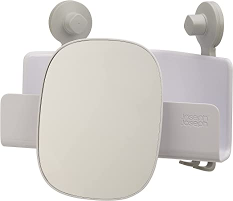 Amazon.com: Joseph Joseph EasyStore Corner Shower Caddy, 1 Pack, White :  Home & Kitchen