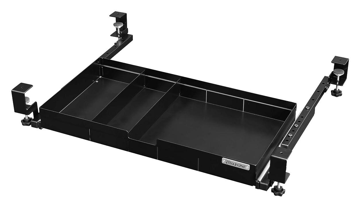 Bauhutte ブラック 容量約11L 大型引き出し BHP-H60-BK