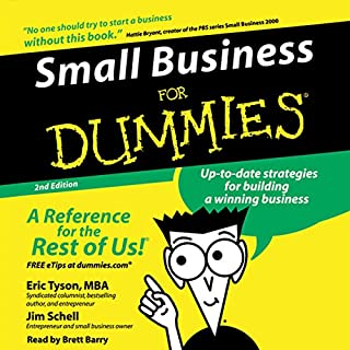 Small Business for Dummies, 2nd Edition cover art