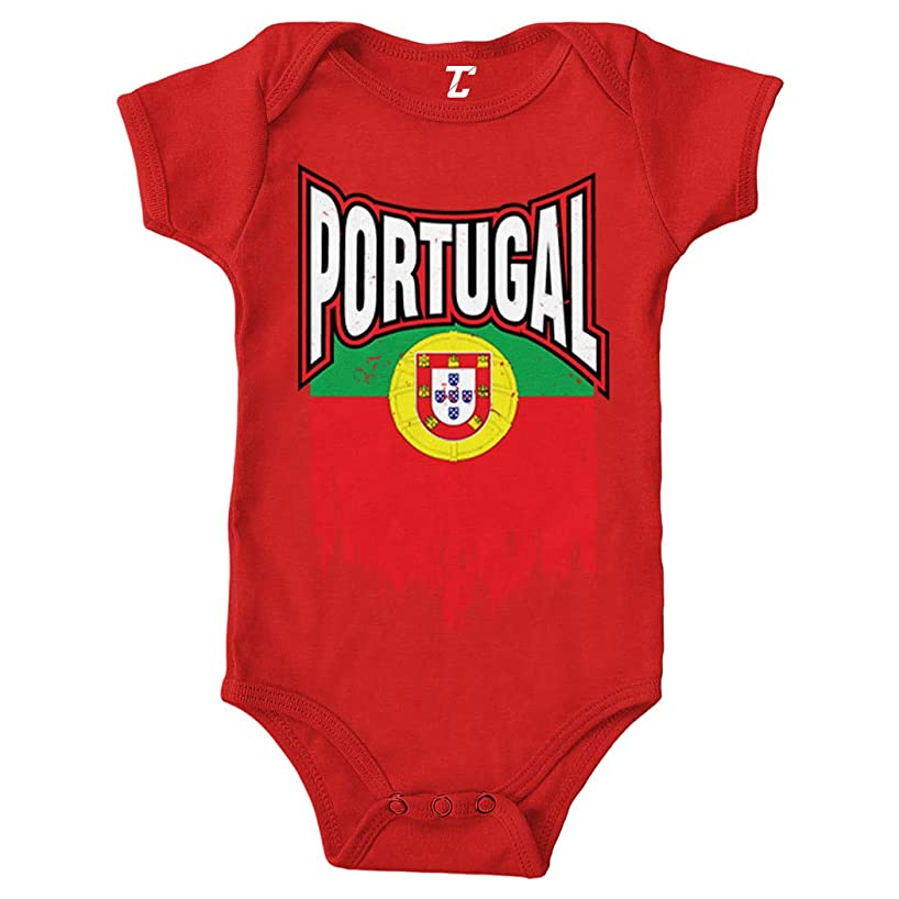 Tcombo Portugal Torn Flag - Portuguese Strong Bodysuit
