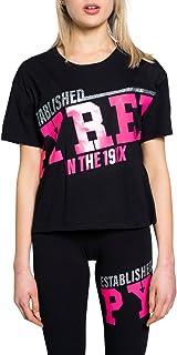 Pyrex T-Shirt Donna Glitter Fuxia 21epb42038