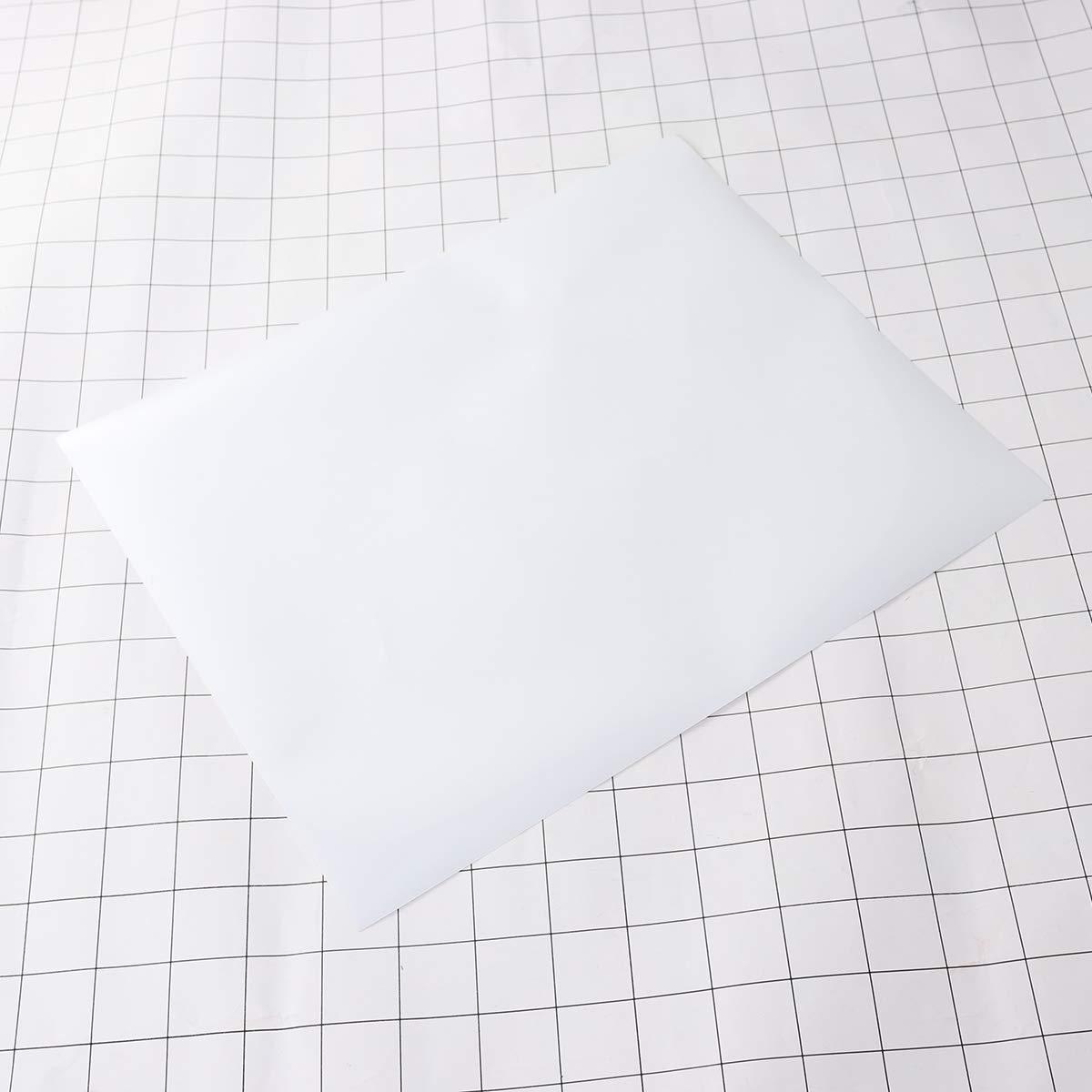 Vosarea Paquete de vinilo de transferencia de calor PU 25x30.5cm Hoja de colores surtidos Camiseta de bricolaje Hojas de transferencia de vinilo - Mejor hierro en vinilo HTV para Silhouette Cameo, Cricut -