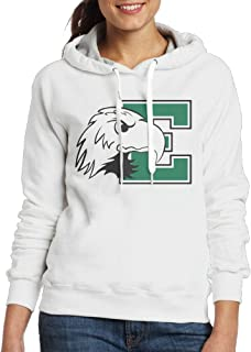 BFWL Women's Hooded Sweatershirts Hoodies Eastern Michigan University White