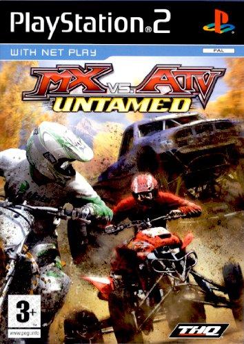 THQ MX VS. ATV UNTAMED PS2
