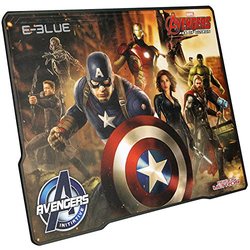 E-Blue - Captain America Gaming Mouse Pad (Officially Licensed Marvel North America)