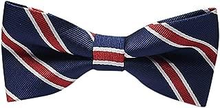 NUWFOR Mens Classic Plaids Adjustable Tuxedo Bowtie Wedding Bow Tie Necktie Formal E