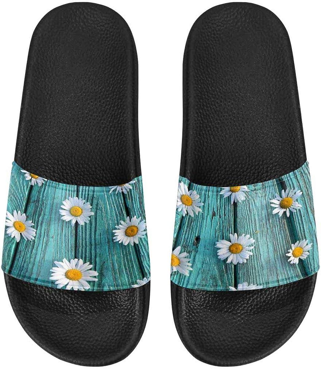InterestPrint Women's Casual and Lightweight Slipper Sandals for