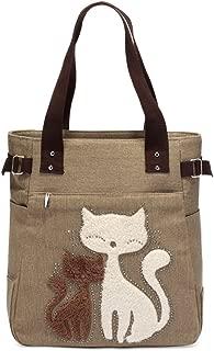 Taschen Premium Canvas Shopper Taschen KAUKKO Damen Handbag Schultertasche