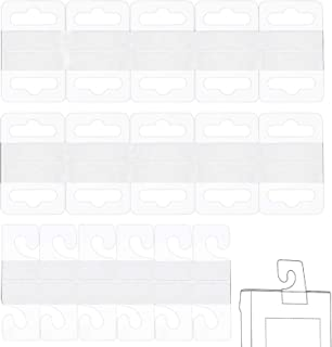 Ganci Adesivi biadesivi Cornice per Foto e Decorazioni 20 Paia di Ganci appesi Trasparenti Senza Perforazione Ganci Adesivi Resistenti per mensola XGzhsa Ganci Adesivi da Parete