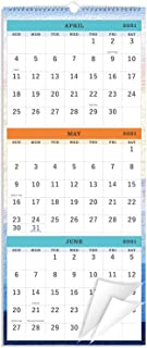 "2021-2022 Wall Calendar - 3-Month Display Vertical Calendar, Calendar Planner 2021-2022, 11"" x 26"", Large, Lay- Flat, Apri..."