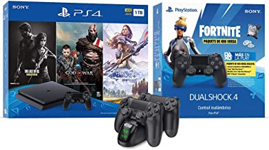 2019 Newest Playstation 4 Holiday Bundle- Only on Playstation PS4 Console Slim Bundle - Included...