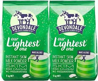 Devondale 德运 脱脂速溶全脂进口成人奶粉 1kg (2袋)