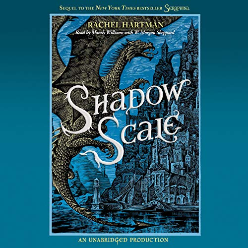 Shadow Scale     A Companion to Seraphina              By:                                                                                                                                 Rachel Hartman                               Narrated by:                                                                                                                                 Mandy Williams,                                                                                        W. Morgan Sheppard                      Length: 18 hrs and 9 mins     21 ratings     Overall 4.3