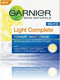Garnier Skin Naturals Light Complete Night Cream, 40g