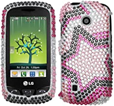 Twin Stars Diamante Protector Cover for LG VN270 (Cosmos Touch)