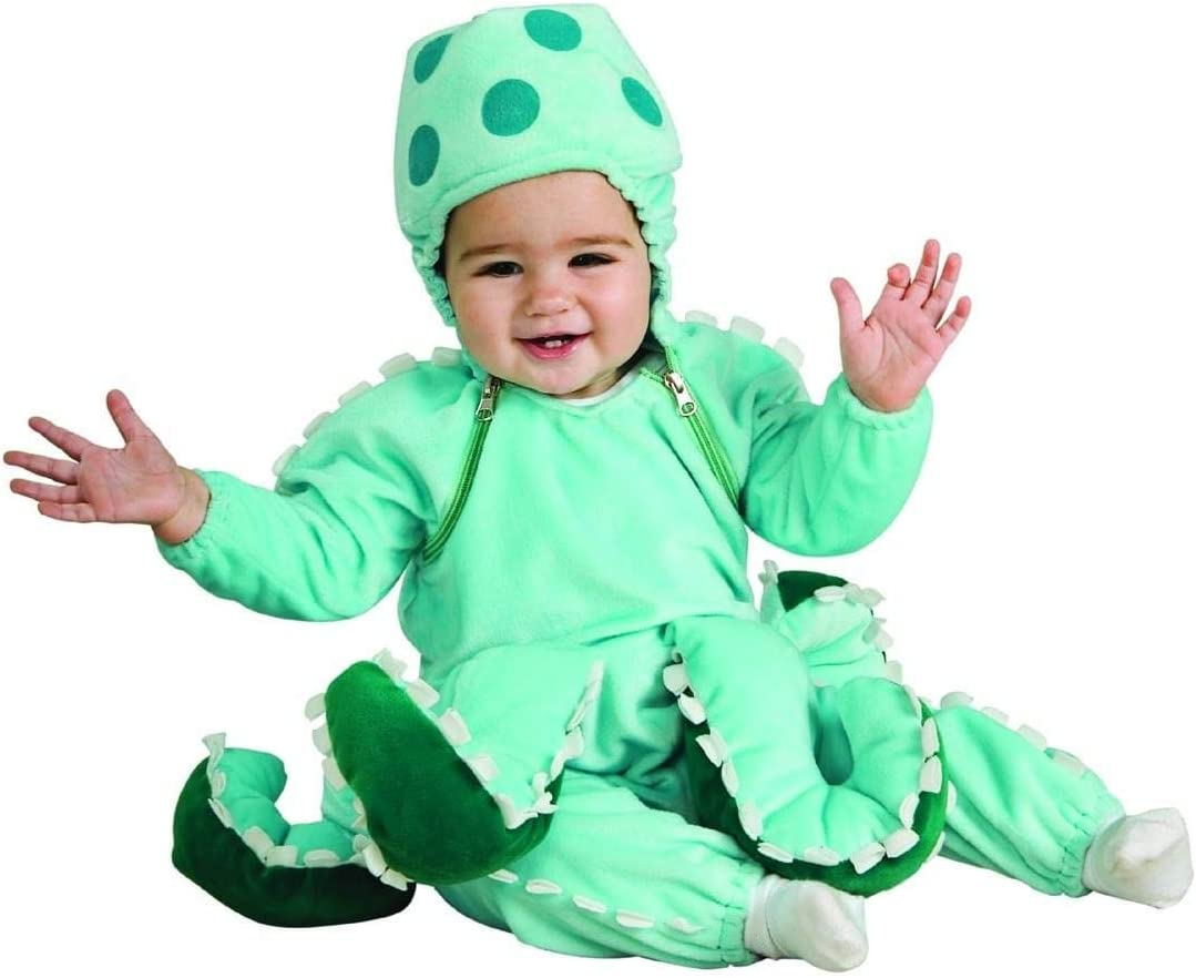 Rubie's Limited price sale Deluxe Octopus Costume A surprise price is realized Newborn Blue