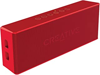 Creative MUVO 2 Portable Water-resistant Bluetooth Speaker with Built-in MP3 Player (Red)