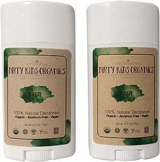 Certified Organic Kid's Deodorant Stick (Dirty Kids Organics)