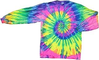 Tie-Dye Shirt - Long Sleeve Crazy Flo Rainbow