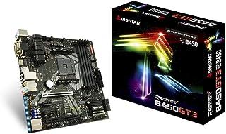 Biostar B450GT3 - Placa Base (DDR4-SDRAM, DIMM, 1866,2133,2400,2666,2933,3200 MHz, Dual, 8GB,16GB, 64 GB)