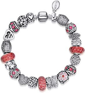 Mestige Women's Siren Bracelet with Swarovski Crystals