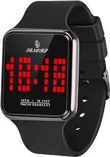 WUTAN Women's Wrist Watch Fashion Analog Quartz Ladies Dress Wristwatches with Rose Gold Case Green Leather Band