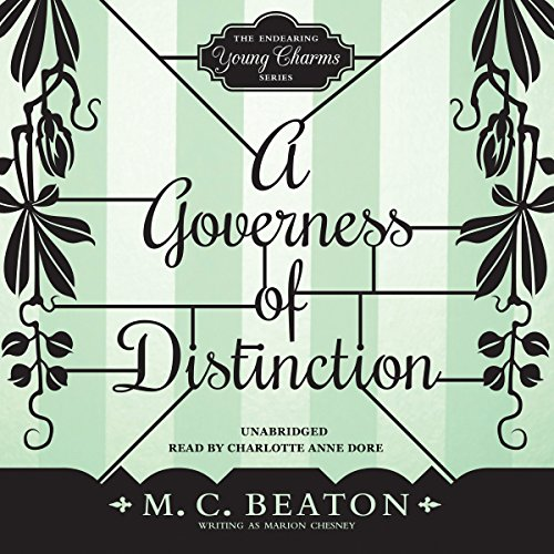 A Governess of Distinction audiobook cover art