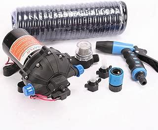 Sanven Marine Electric Deck Washdown Pump Kit 70 Psi for Boat & Rv 5.5 Gpm Pump