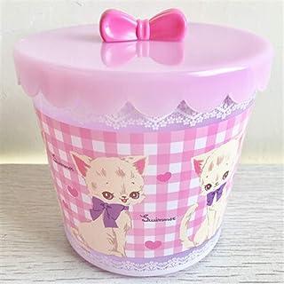 CJIANHUA Creative Mignon avec Couvercle Boîtes de Rangement Organiseur Accueil Décoration de Bureau Candy Sundries Supérie...