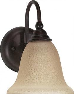 Nuvo Lighting 60/107 One Light Fixture Vanity, Old Bronze