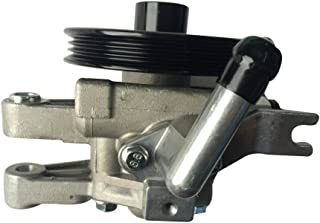 DRIVESTAR 21-5440 Power Steering Pump with Pully for 2004 Kia Spectra 2.0, 2005-2009 Kia Spectra, 2005-2009 Kia Spectra5, 2005-2010 Kia Sportage 2.0, 2005-2009 Hyundai Tucson 2.0, OE-Quality New Pump