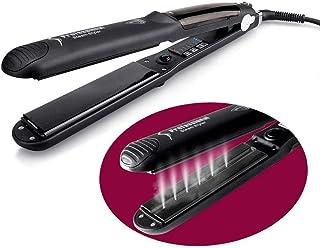 赤外線否定的なイオン毛のスタイラーが付いている鉄のスプレーの蒸気陶磁器の矯正およびカーラーの温度調整をまっすぐにする毛矯正矯正