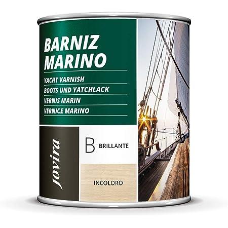 BARNIZ MARINO, Barniz madera exterior-interior, barniz madera incoloro-transparente) Especial resistencia en ambientes marinos. (2,3 Litros, ...