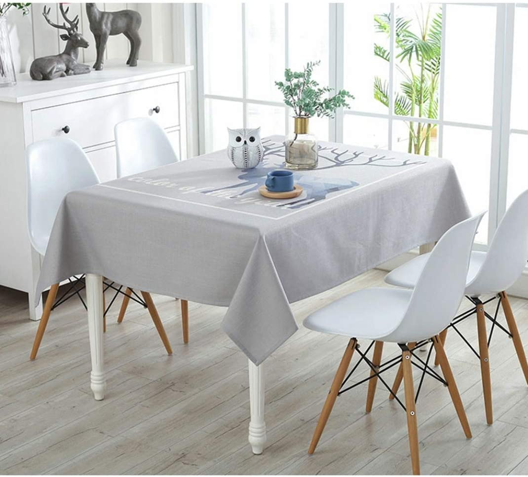 Amazon Co Jp Tablecloth Cotton Linen Nordic Style Multi Functional Dining Table Decoration Painting Pastoral Style Modern Living Room Room Decor Floral Dustproof Folding Dining Mat Simple Table Cover Stain Resistant Cotton Linen Cloth 43 3