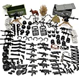 Custom Military SWAT Police Team Toy Weapons Set Compatible Major Brands Building Blocks (Weapons - 1)