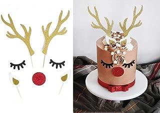 reindeer cake toppers