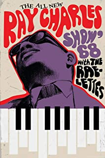 The Ray Charles Show 68 Concert Cool Wall Decor Art Print Poster 24x36